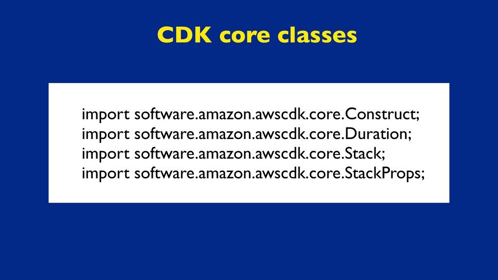 import software.amazon.awscdk.core.Construct; i...