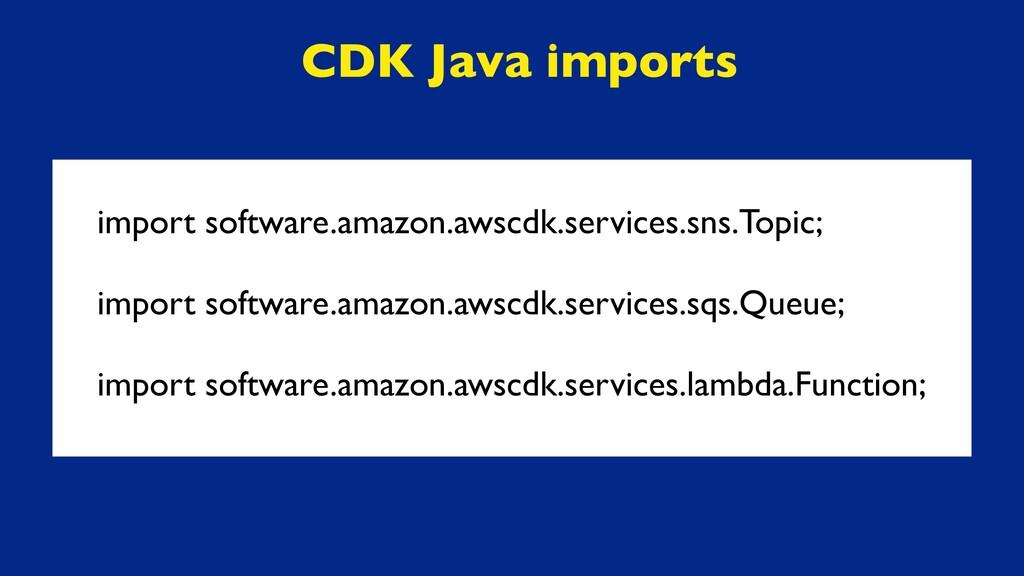 import software.amazon.awscdk.services.sns.Topi...