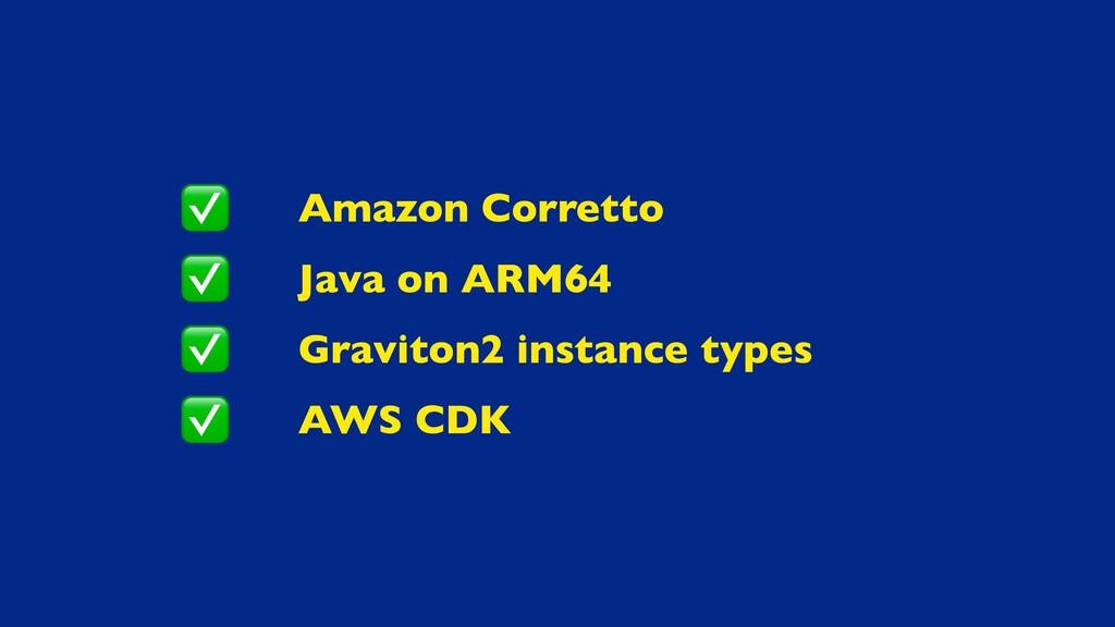 Amazon Corretto Java on ARM64 Graviton2 instanc...