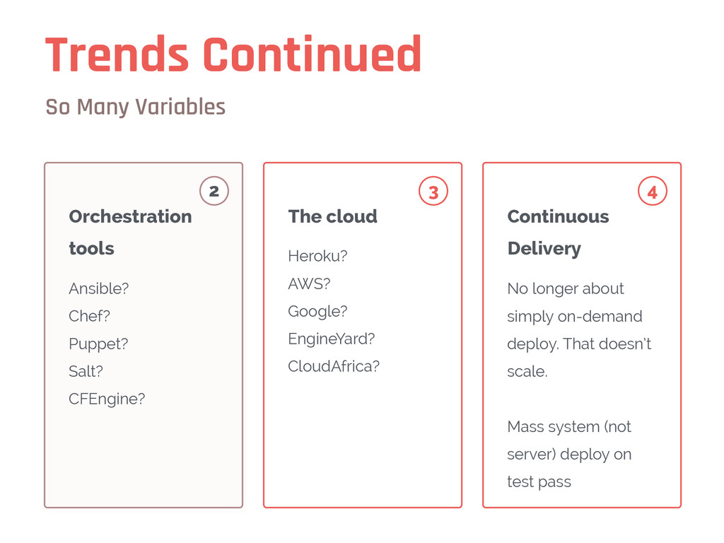 Trends Continued So Many Variables Ansible? Che...
