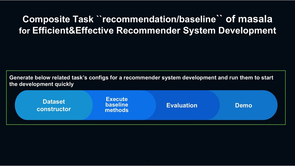 Composite Task ``recommendation/baseline`` of m...