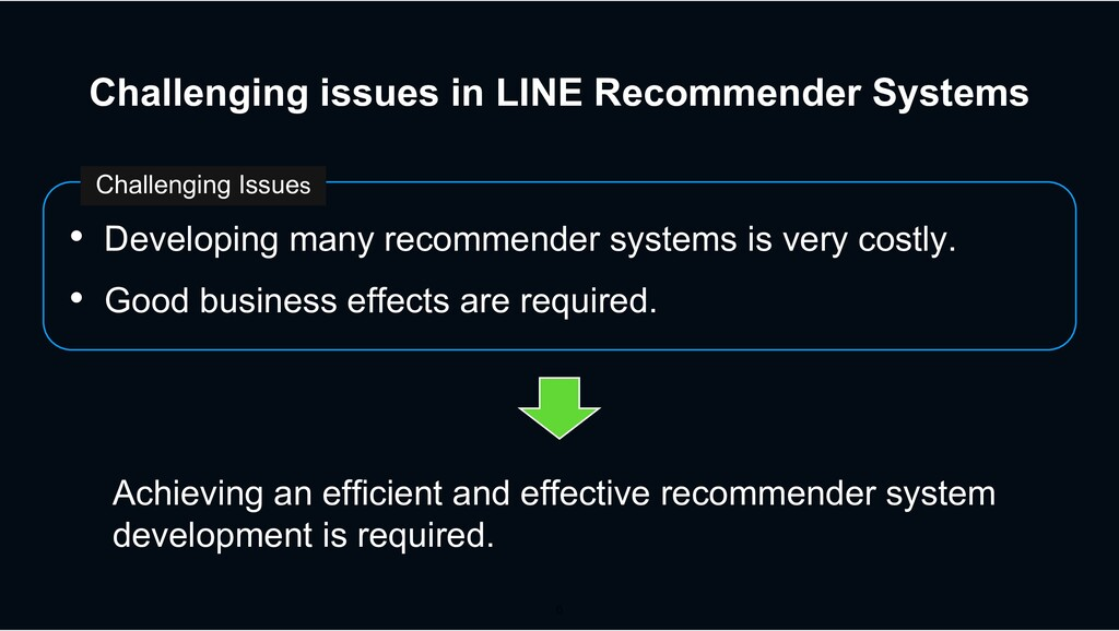Challenging issues in LINE Recommender Systems ...