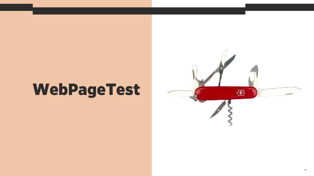 WebPageTest 13