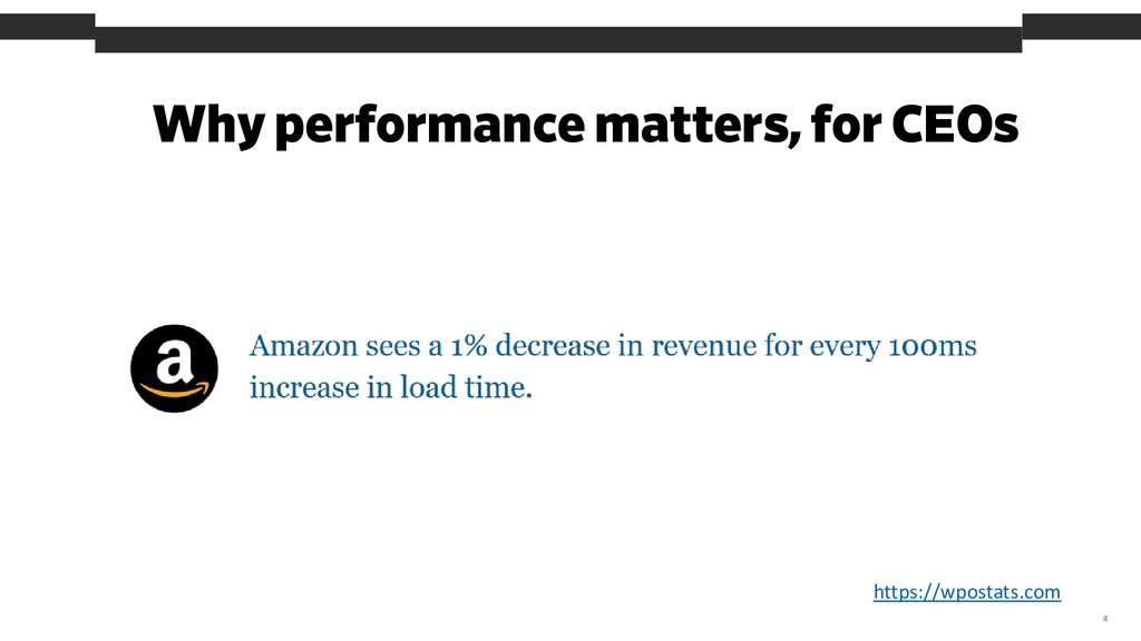 Why performance matters, for CEOs 4 https://wpo...