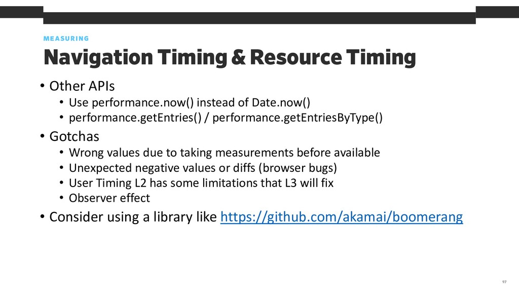 MEASURING 97 Navigation Timing & Resource Timin...