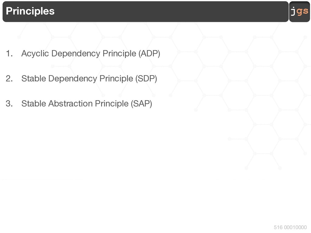 jgs 516 00010000 Principles 1. Acyclic Dependen...