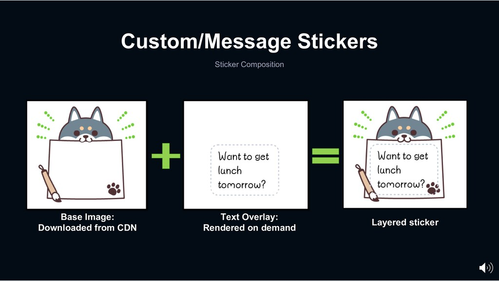Custom/Message Stickers Sticker Composition Bas...