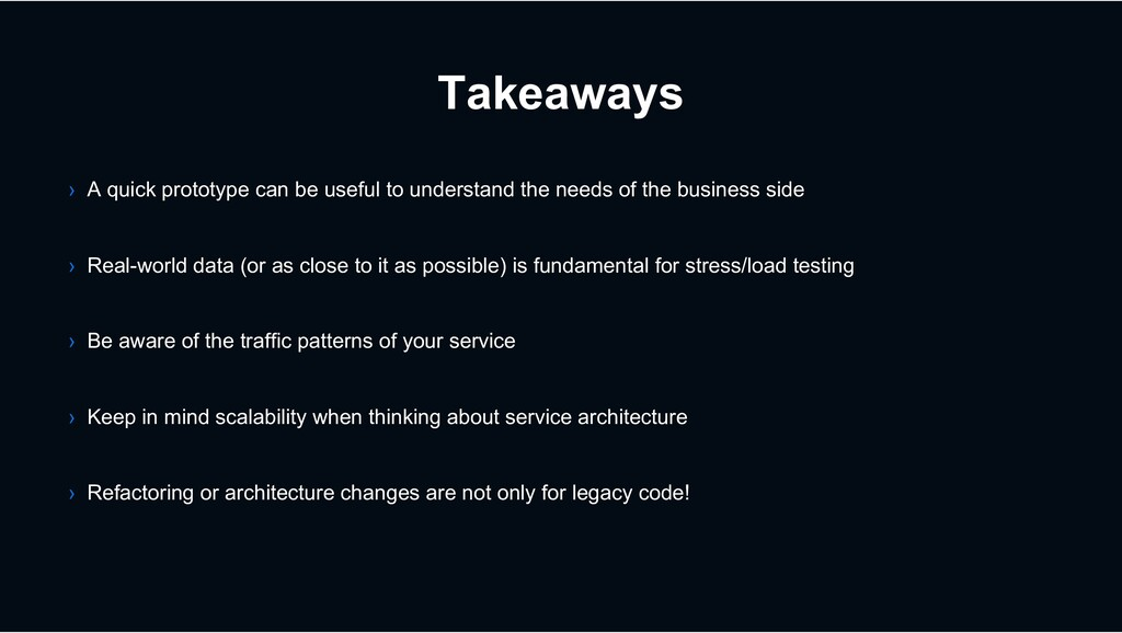 Takeaways › A quick prototype can be useful to ...