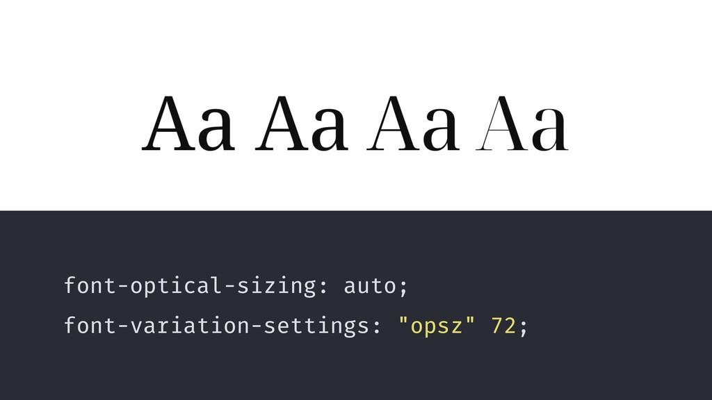 glyphe Voto Serif by Google font-optical-sizing...