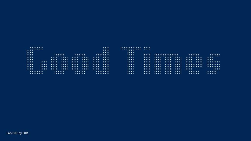 Golden times Lab DJR by DJR