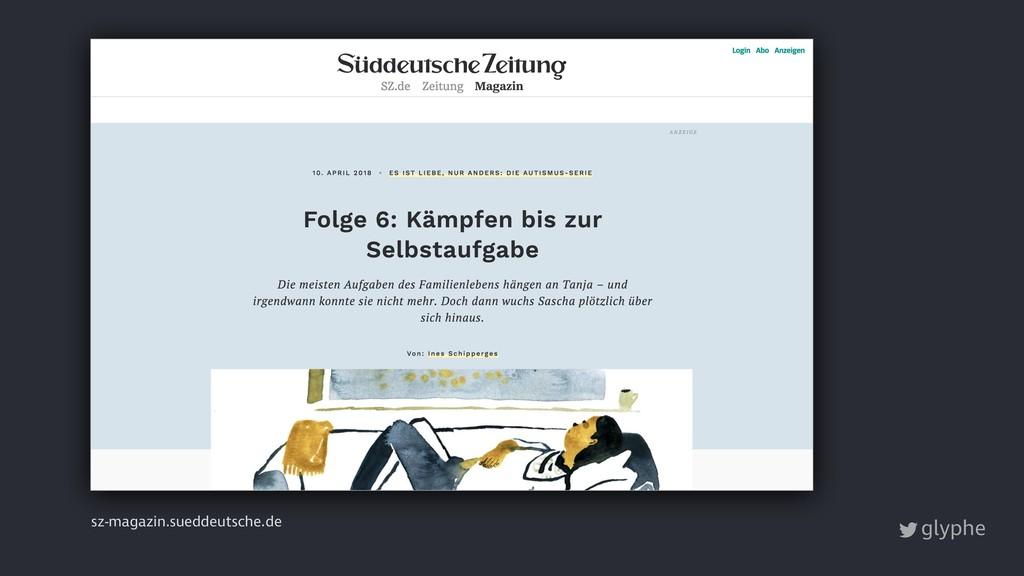 glyphe sz-magazin.sueddeutsche.de