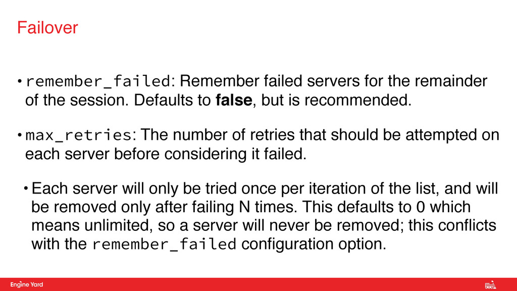 • remember_failed: Remember failed servers for ...