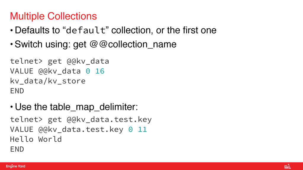 "• Defaults to ""default"" collection, or the firs..."