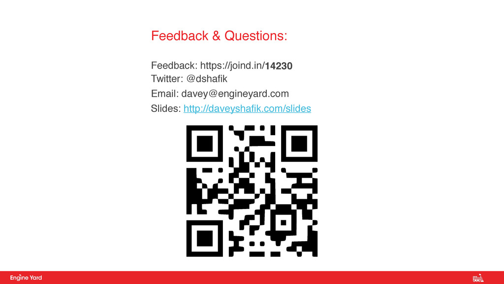 Feedback & Questions: 
