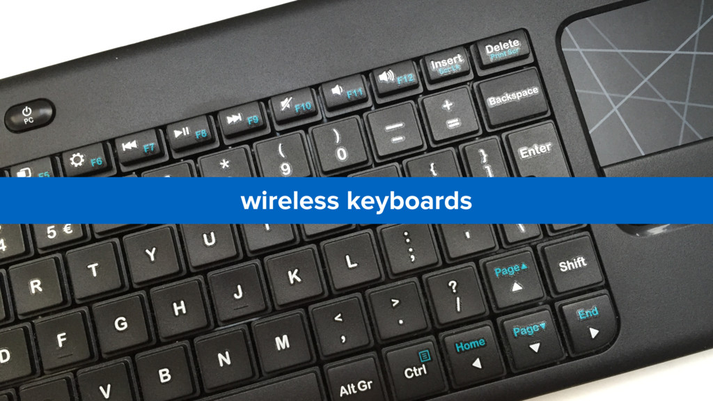 wireless keyboards