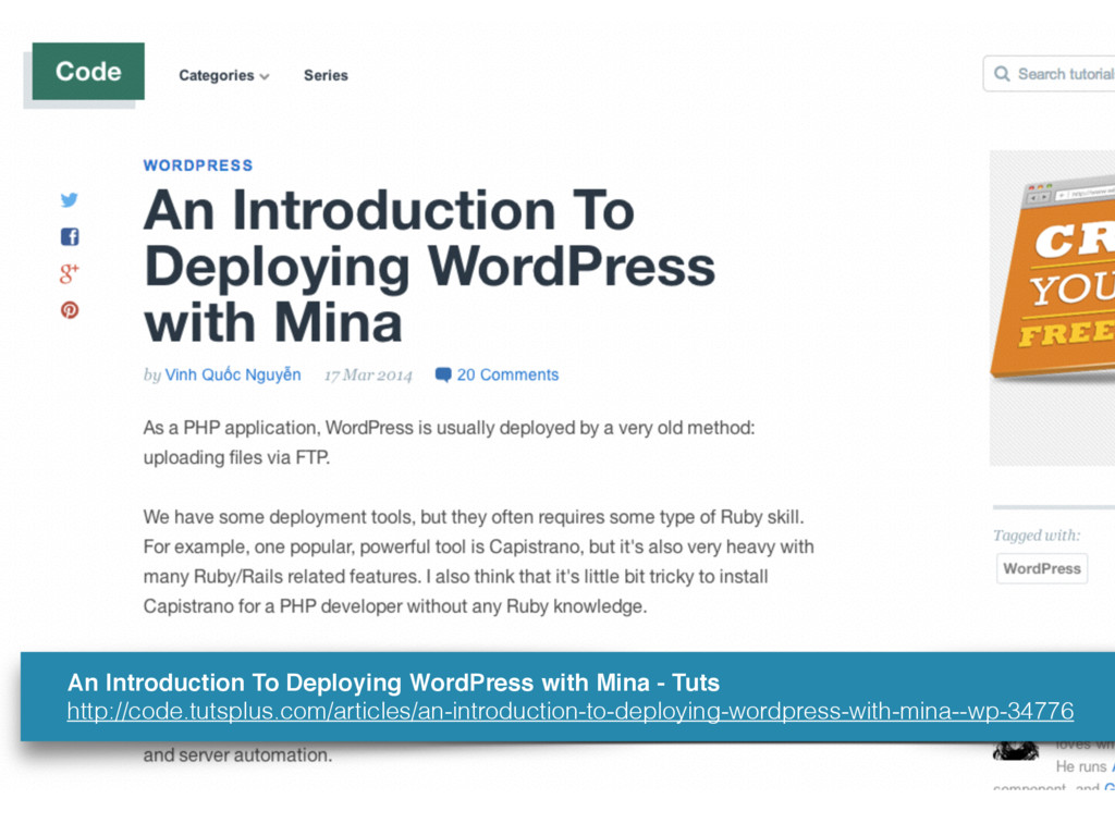 An Introduction To Deploying WordPress with Min...