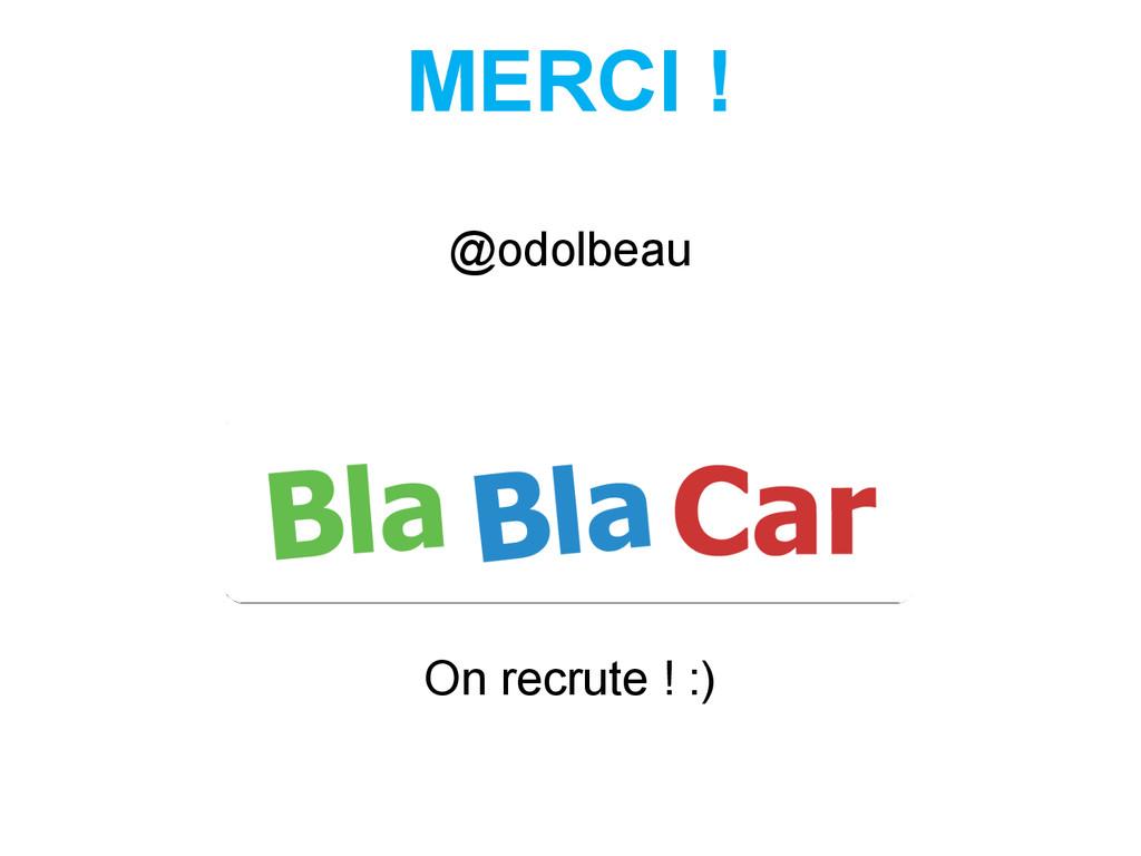 @odolbeau On recrute ! :) MERCI !