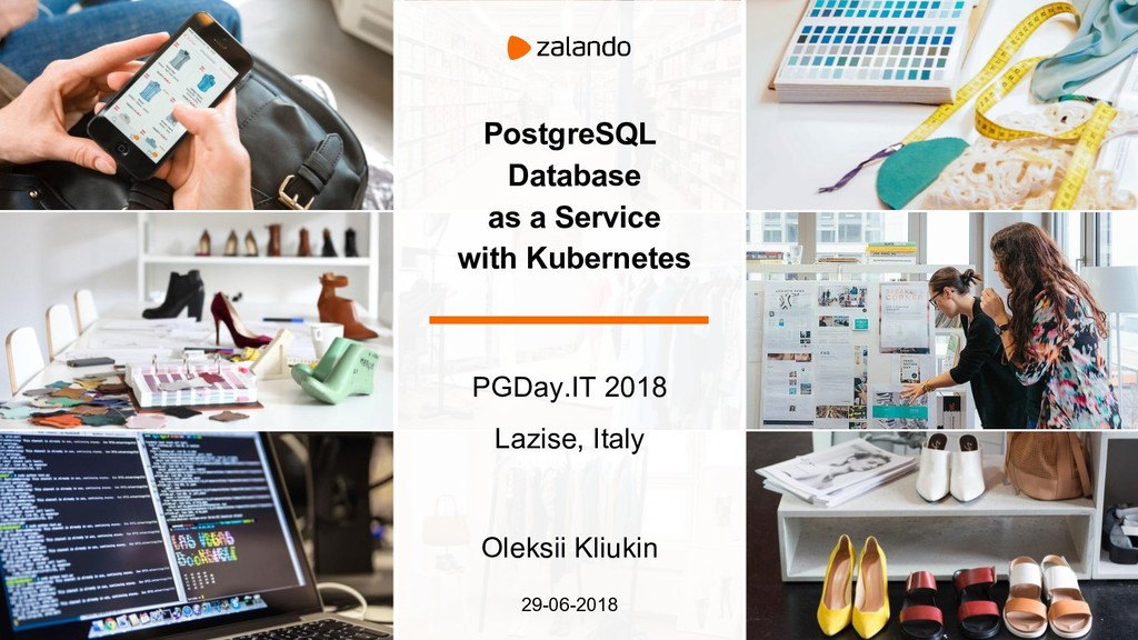 PostgreSQL Database as a Service with Kubernete...