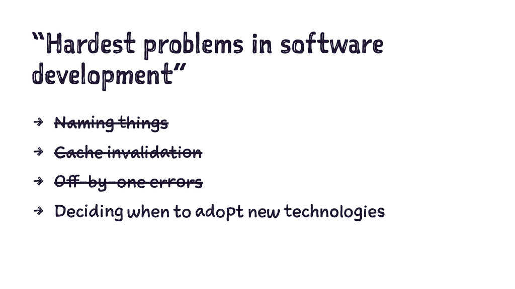 """Hardest problems in software development"" 4 Na..."