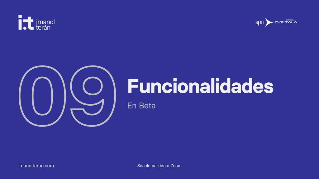 imanolteran.com 09Funcionalidades En Beta Sácal...