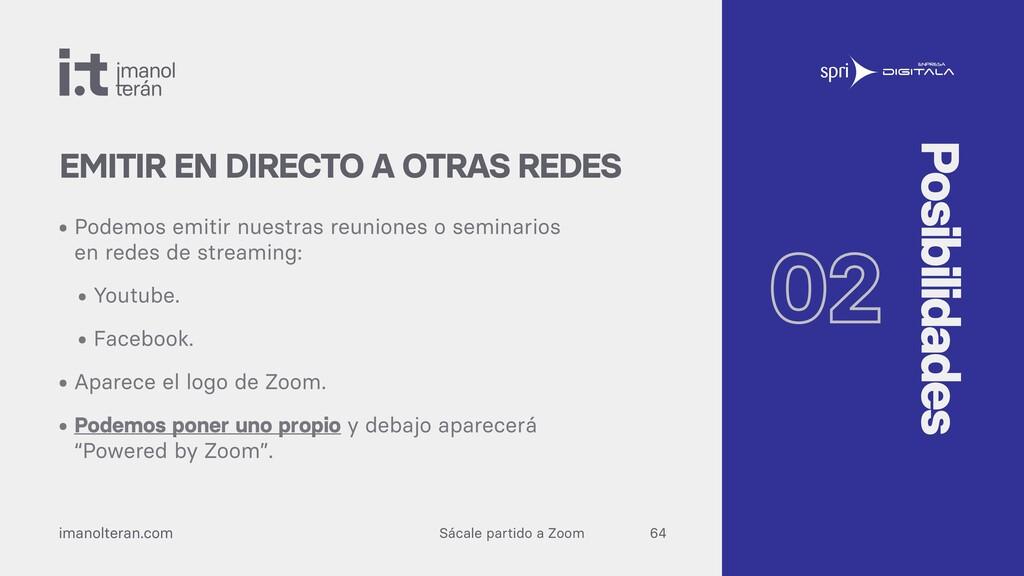 Sácale partido a Zoom imanolteran.com • Podemos...