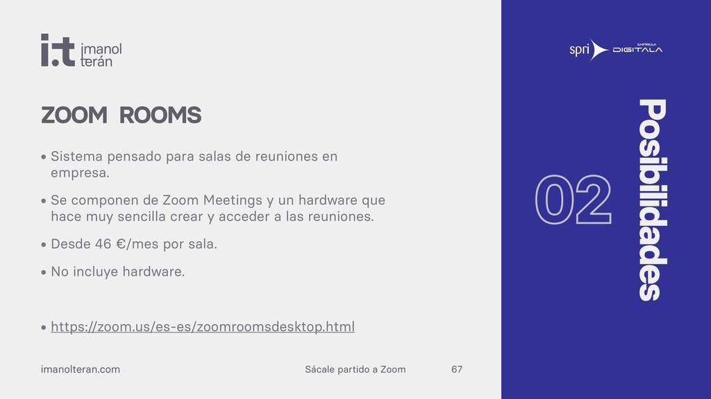 Sácale partido a Zoom imanolteran.com • Sistema...
