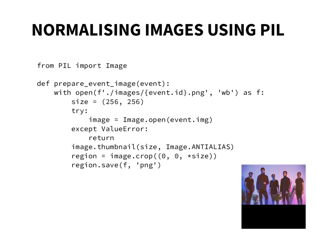 NORMALISING IMAGES USING PIL from PIL import Im...