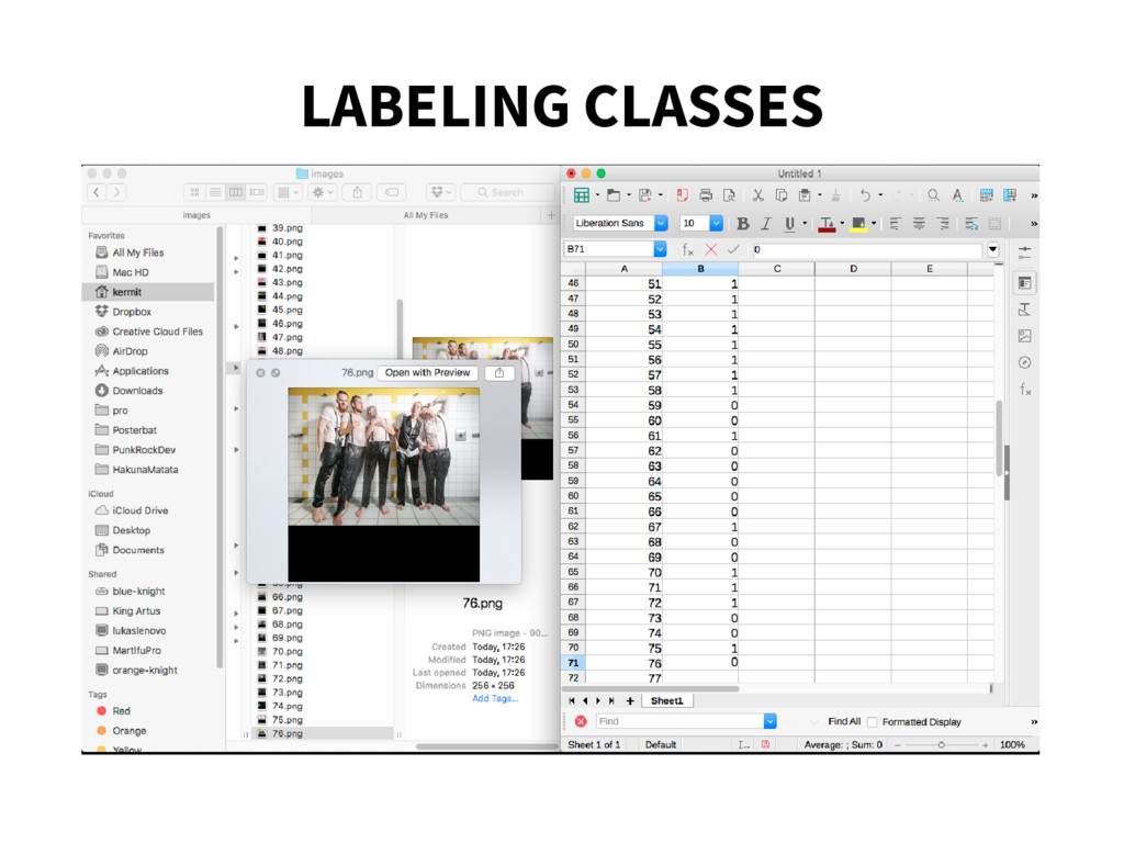 LABELING CLASSES