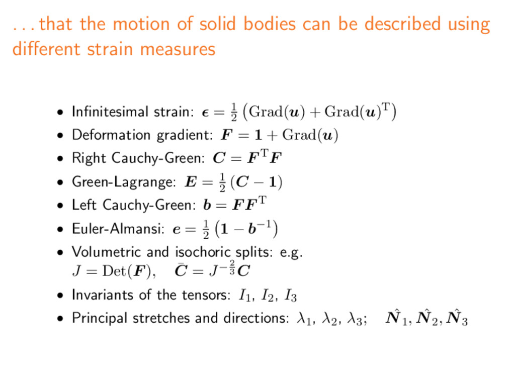 . . . that the motion of solid bodies can be de...