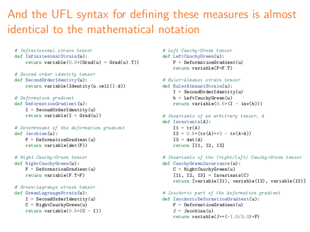 And the UFL syntax for defining these measures i...