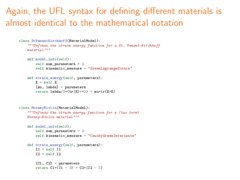 Again, the UFL syntax for defining different mate...