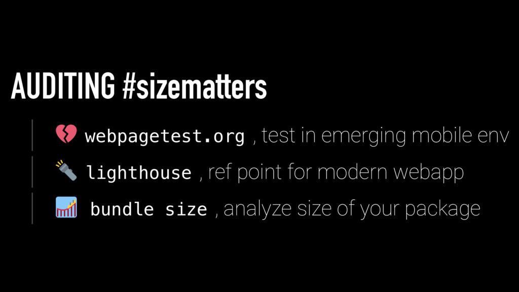 AUDITING #sizematters w e b p a g e t e s t . o...