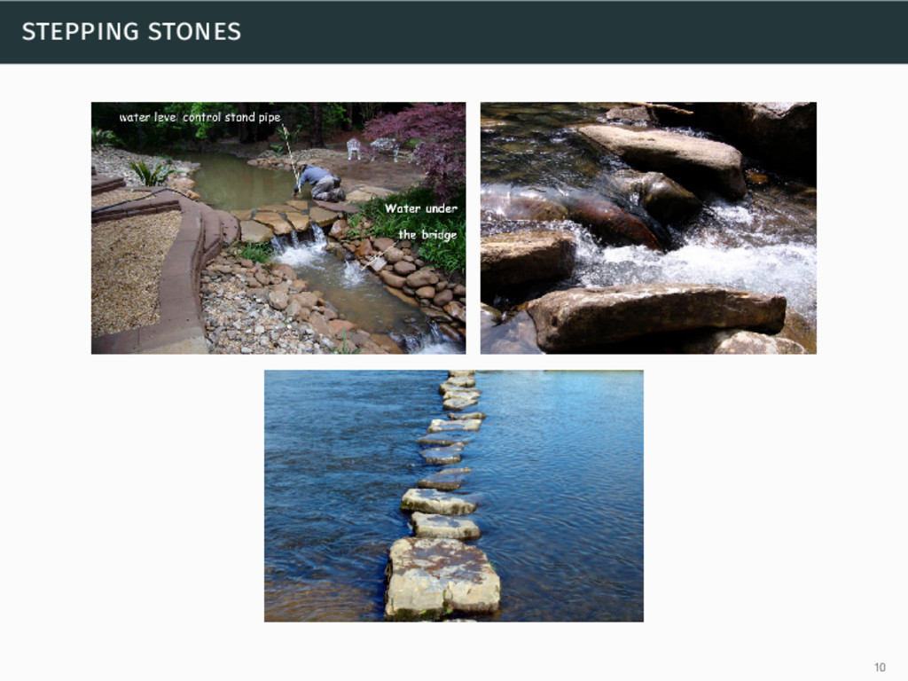 stepping stones 10