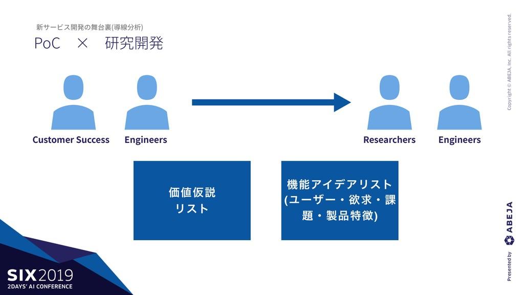 PoC×研究開発 新サービス開発の舞台裏(導線分析) Engineers Research...