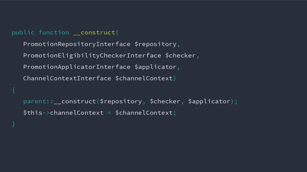 public function __construct( PromotionRepositor...