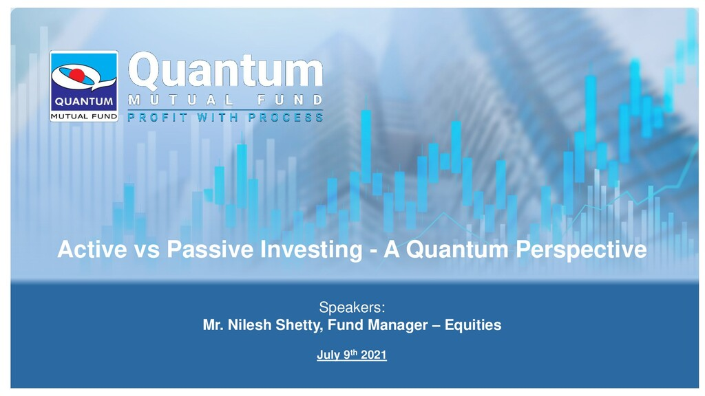 Active vs Passive Investing - A Quantum Perspec...