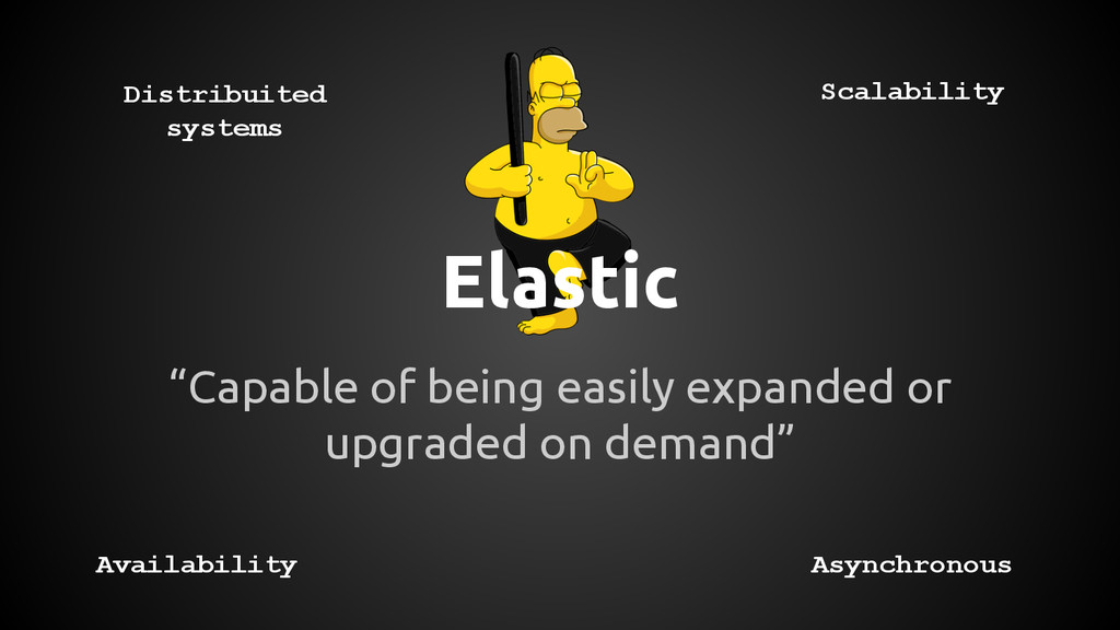 "Elastic ""Capable of being easily expanded or up..."
