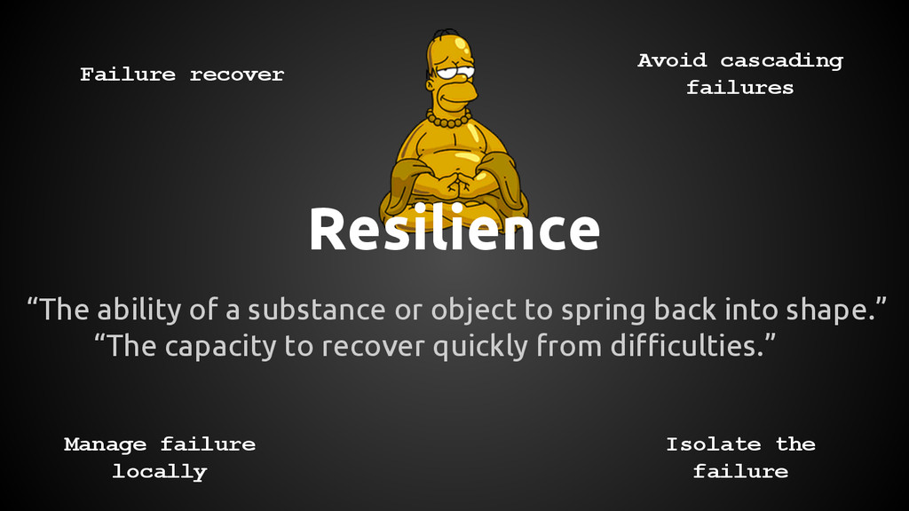 "Resilience ""The ability of a substance or objec..."