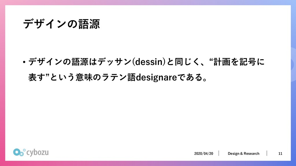 2020/04/20 11 Design & Research 2020/04/20 11 D...