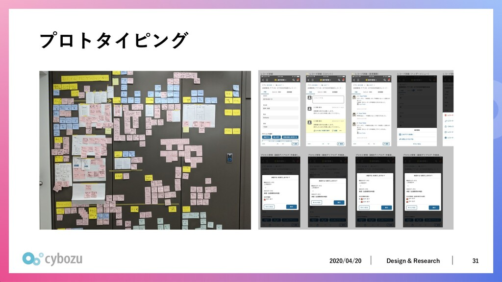 2020/04/20 31 Design & Research 2020/04/20 31 D...