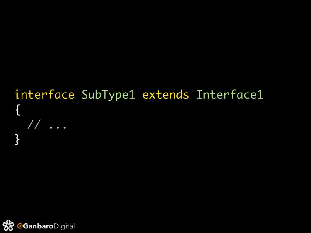 @GanbaroDigital interface SubType1 extends Inte...