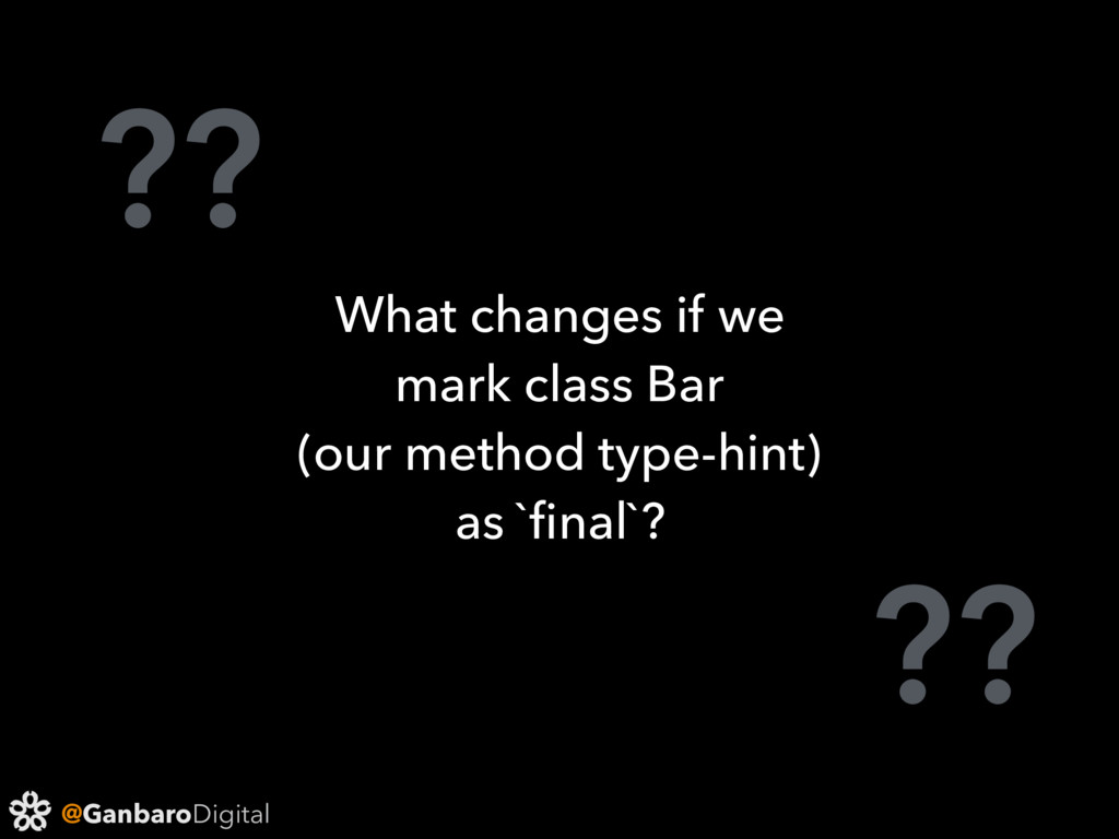 @GanbaroDigital ?? ?? What changes if we mark c...