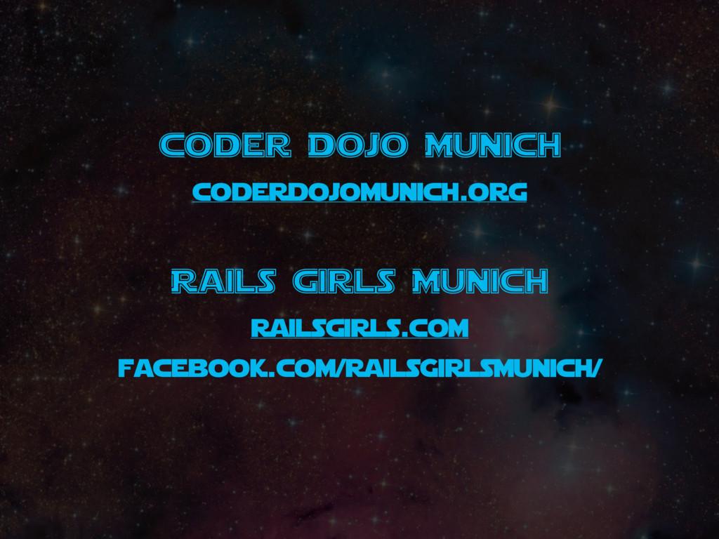 Coder Dojo Munich coderdojomunich.org Rails Gir...