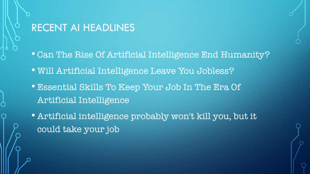 RECENT AI HEADLINES • Can The Rise Of Artificia...