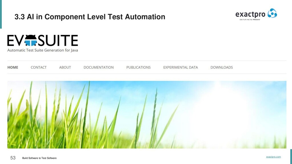 53 Build Software to Test Software exactpro.com...