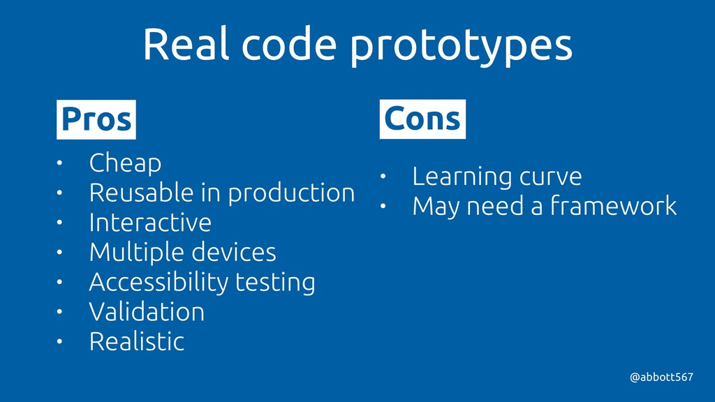 @abbott567 Real code prototypes • Learning curv...