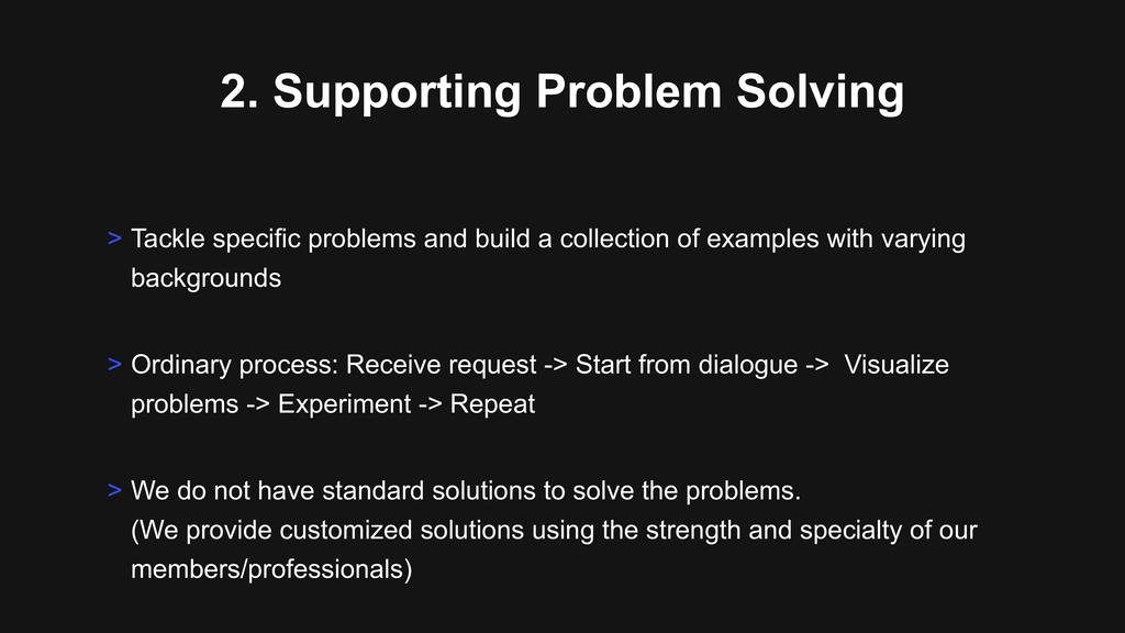 2. Supporting Problem Solving > Ordinary proces...
