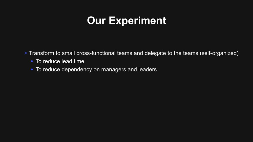 Our Experiment > Transform to small cross-funct...