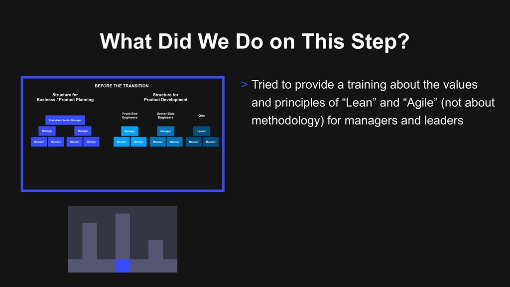 What Did We Do on This Step? > Tried to provide...
