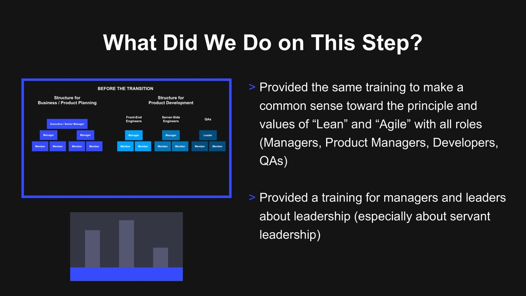 What Did We Do on This Step? > Provided the sam...